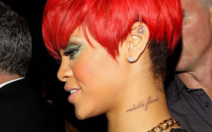 Daily Vibes Rihanna Tattoos