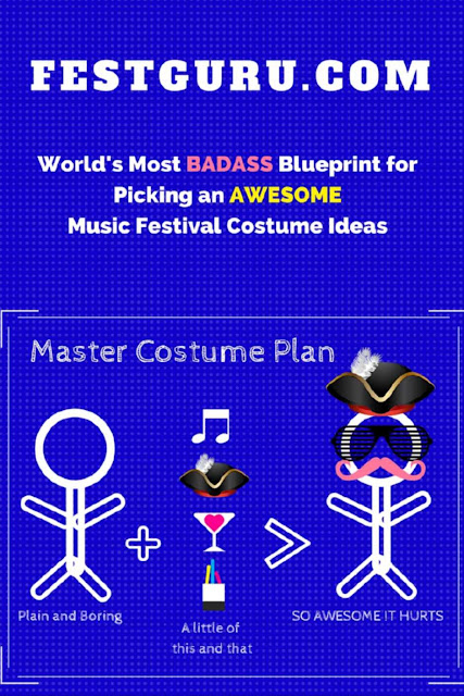 Costume Ideas for Halloween and Music Festivals