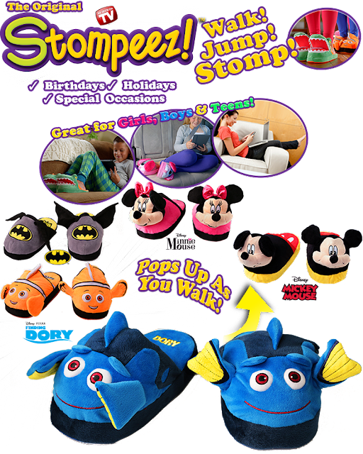 Stompeez As Seen on TV Ad