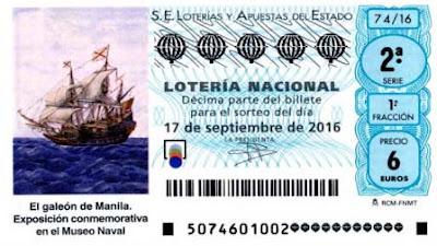 loteria nacional del sabado 17 de septiembre de 2016