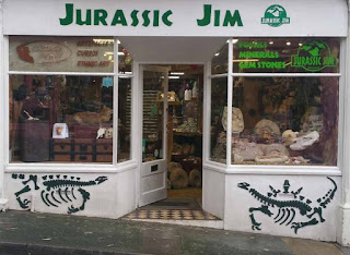 Jurassic Jim Shop on Shanklin HIgh Street