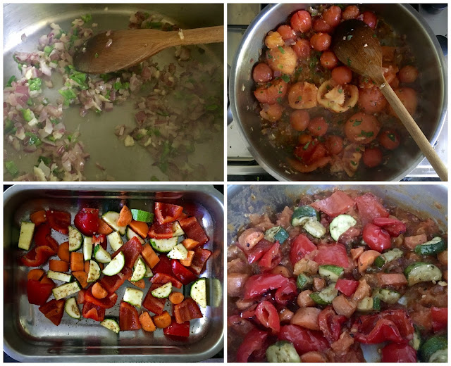 Step by Step making of Roasted Vegetable & Herby Garden Arrabbiata Pasta Sauce