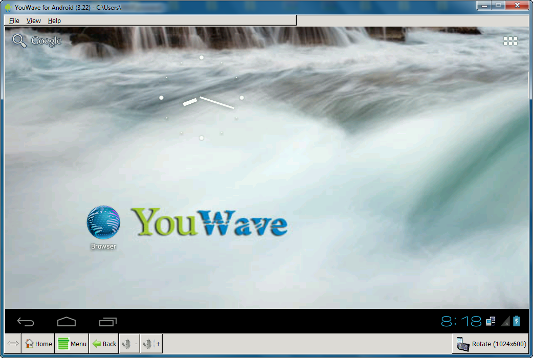 Get YouWave Android Home Final Crack