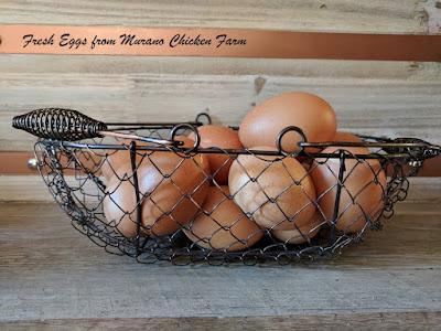 farm fresh eggs in winter