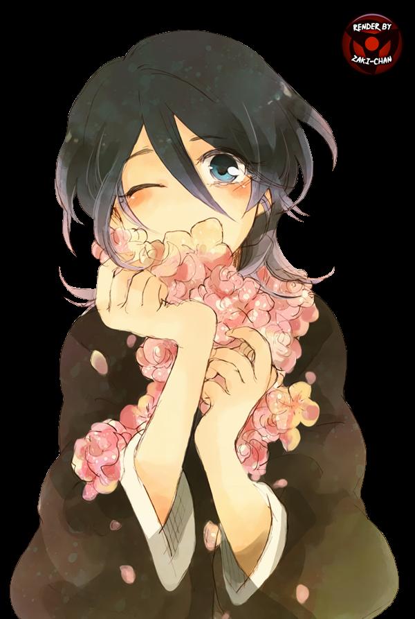 Rukia fanart render