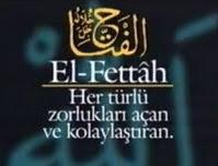Yâ Fettah sayısız bolca okumanın şifası nedir