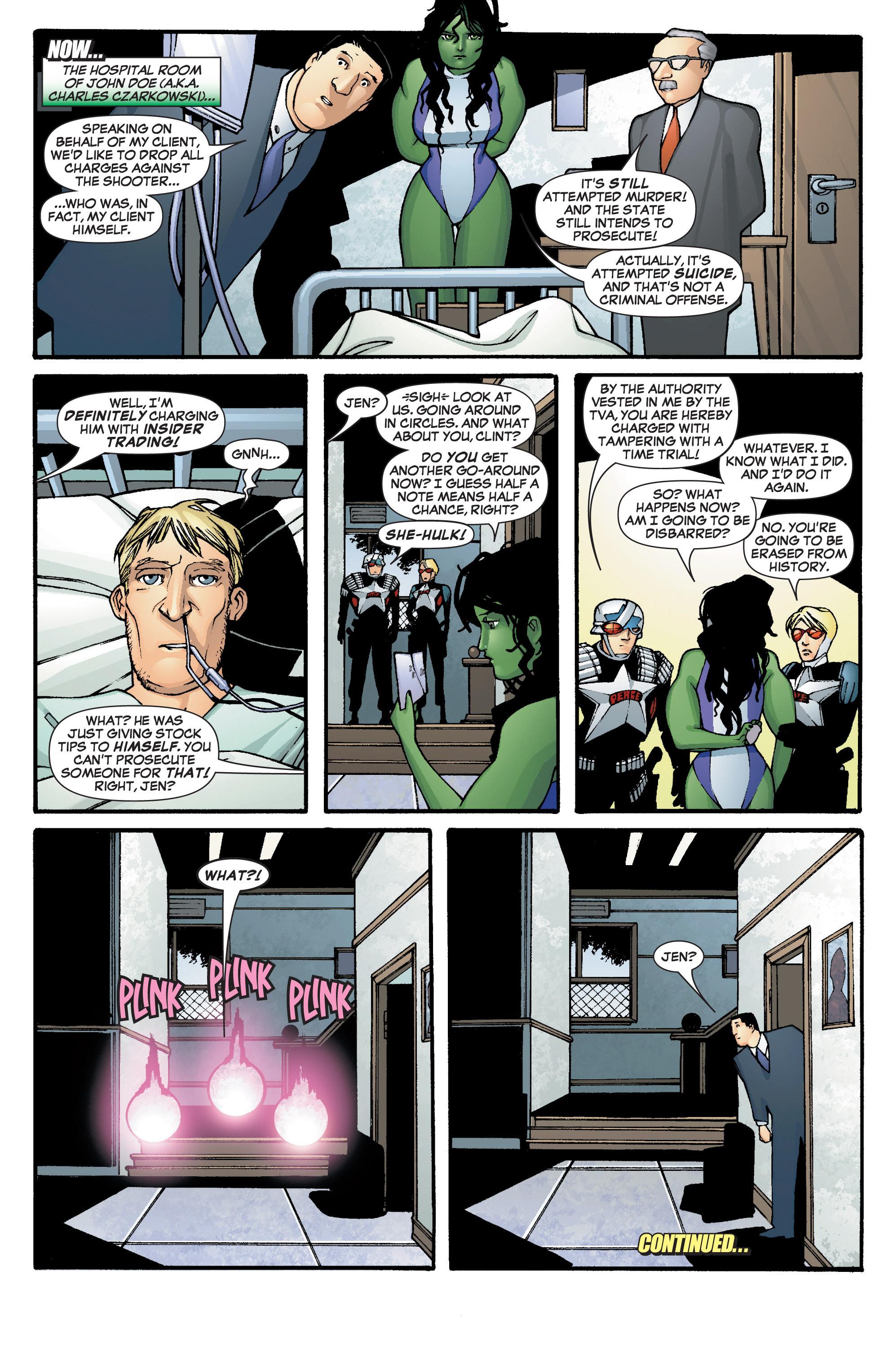 Read online She-Hulk (2005) comic -  Issue #2 - 24