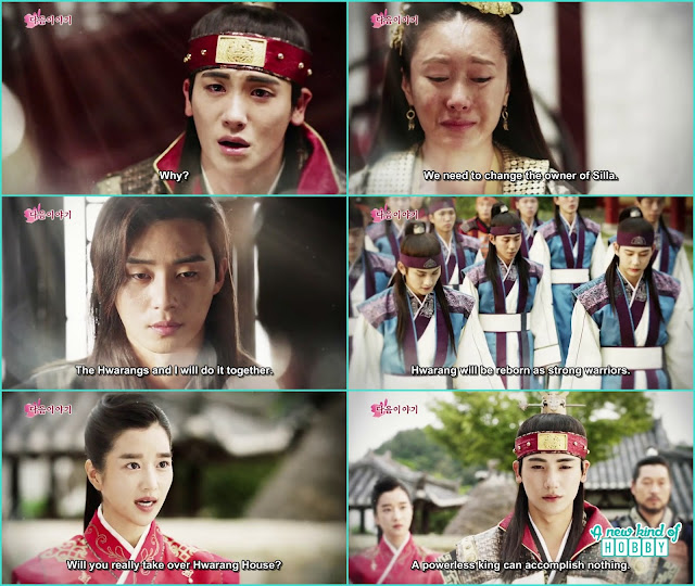 hwarang wil be become the strong warrior for silla - Hwarang: Episode 20 Finale Preview