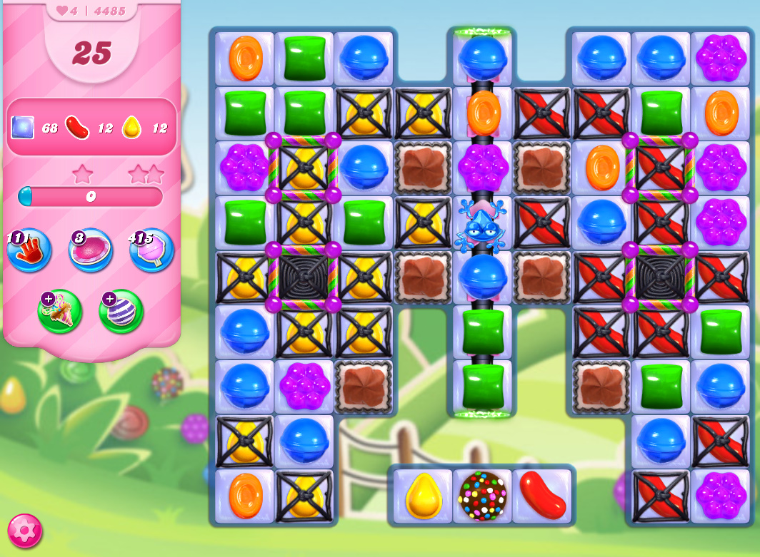 Candy Crush Saga level 4485