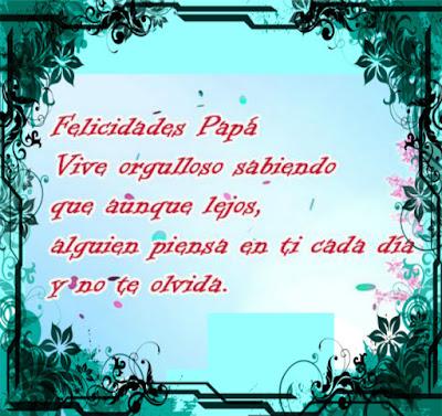 Frases cortas para el día del padre