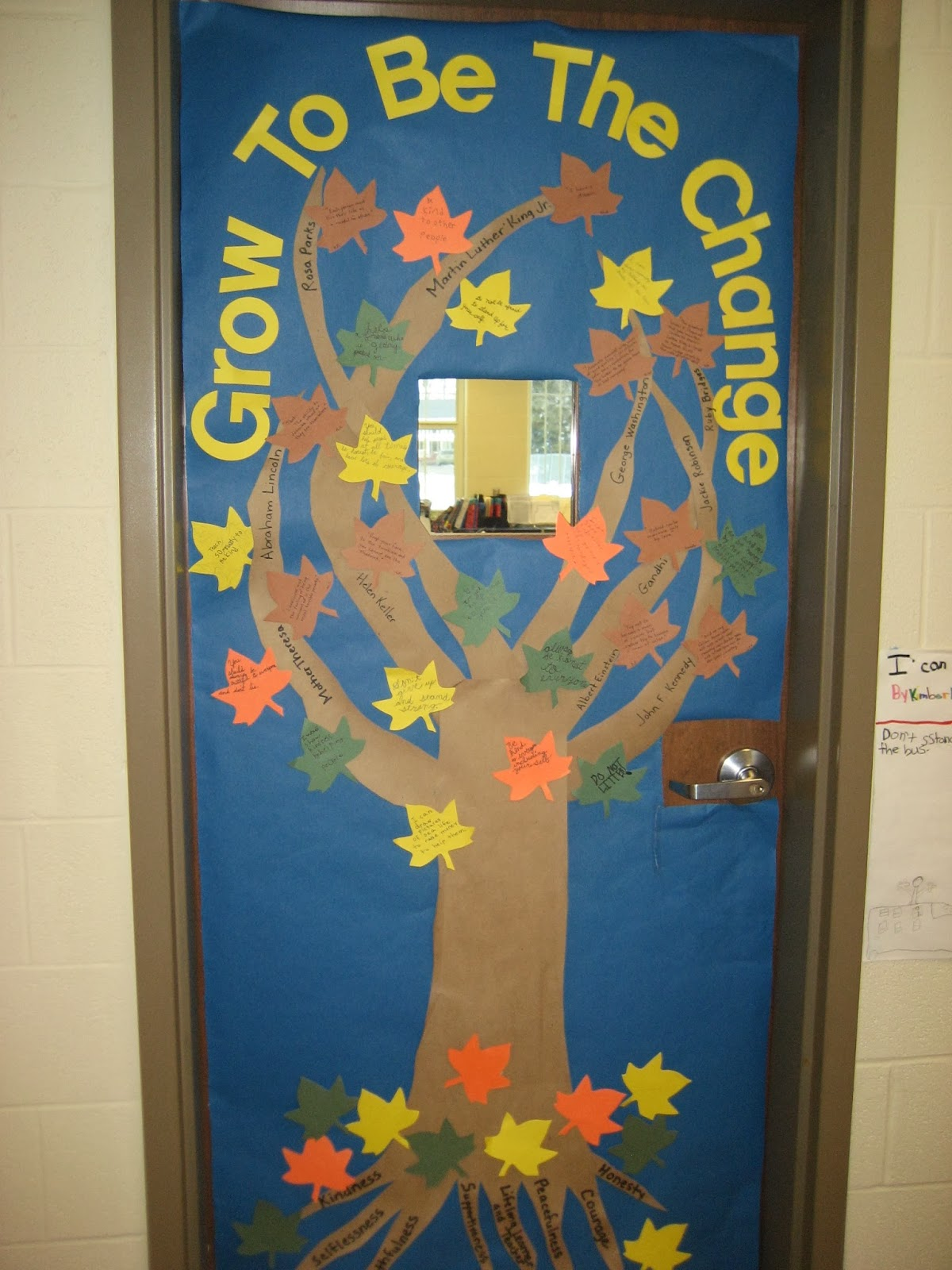 WAJ Elementary School Counselor Blog: Door Decorating Contest