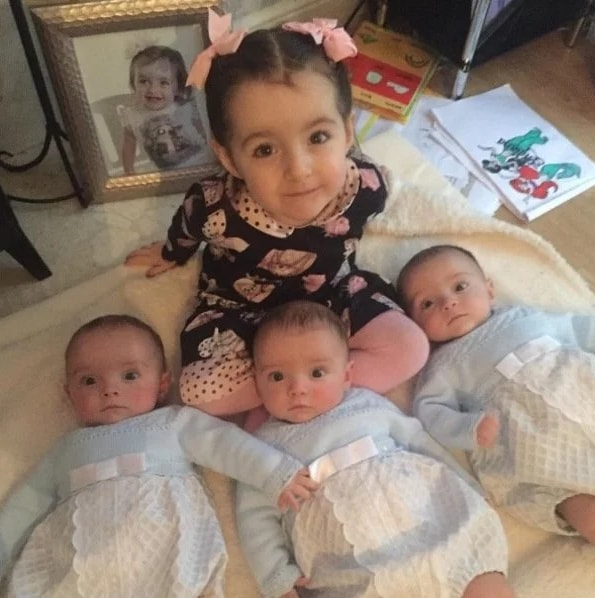 Mother Give Birth To Triplets