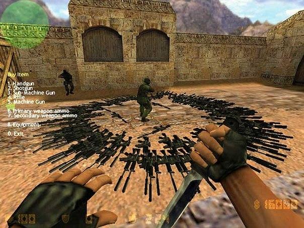 Danh sách toàn bộ mã lệnh cheat game CS 1.6 ( Counter-Strike 1.6 )