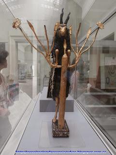 Estatua mesopotámica en el British Museum