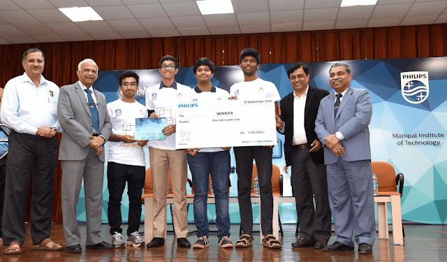 MIT, KMC combined team wins Hackabout 2016
