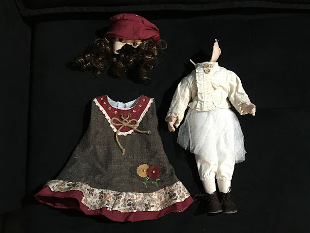 boneca de porcelana quebrada
