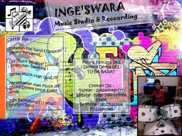 Inge'swara Musica : Studio Musik Recording dan Jasa Sound System Indor dan Outdor di Lampung