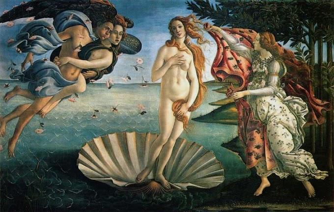 Nascimento de Vênus, de Rilke