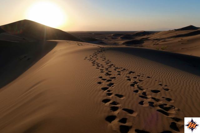 Varzaneh, deserto