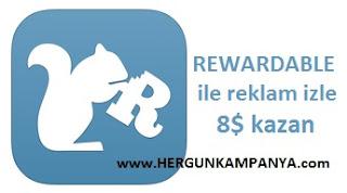 Rewardable ödeme kanıtı