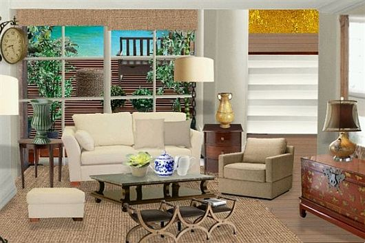 Modern Family Room Designs