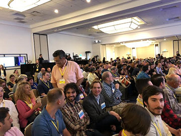 Packed session at OCON 2018 in Newport Beach