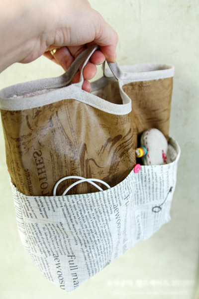 Inner handbag bag / purse bag / organizer bag / insert bag. Tutorial DIY in Pictures.
