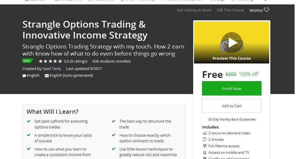 Straddle and strangle strategies in options trading