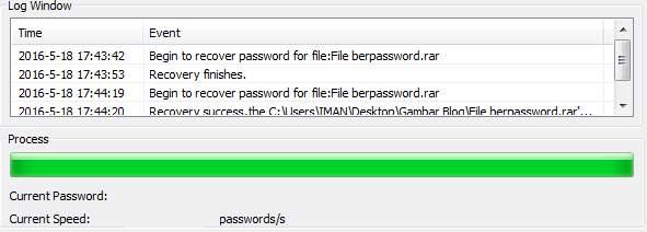 Membuka Password RAR