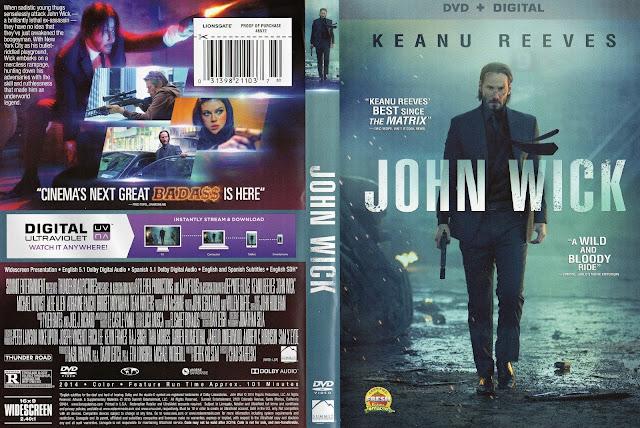 Capa DVD John Wick