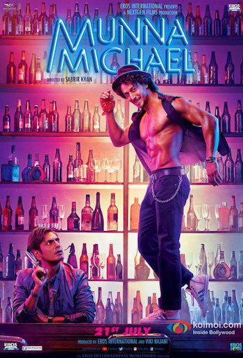 Munna Michael 2017 Hindi 480p DVDScr 400MB