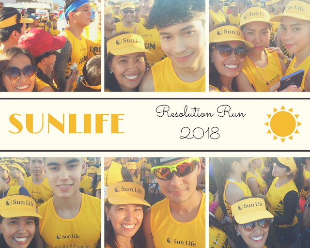 Why I ran for Sunlife Resolution Run?