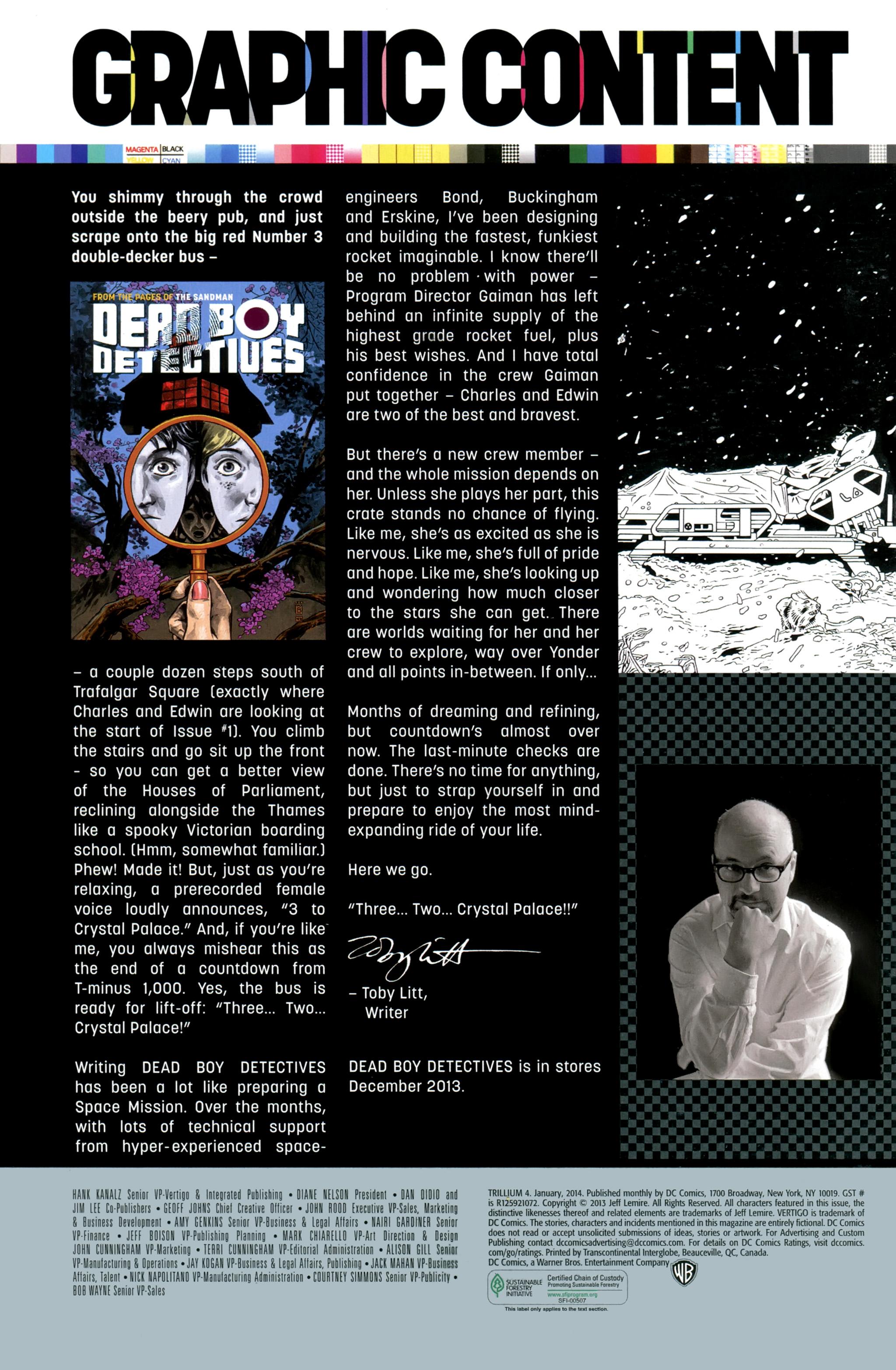 Read online Trillium comic -  Issue #4 - 21