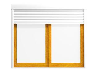 Kompozycja NILA DAKO z serii HarmonyLine - okna, rolety, drzwi, bramy