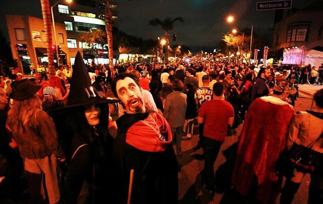Halloween de West Hollywood na Califórnia