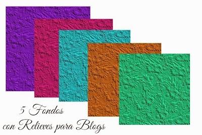 5 Fondos para Blogs con Textura Relieve