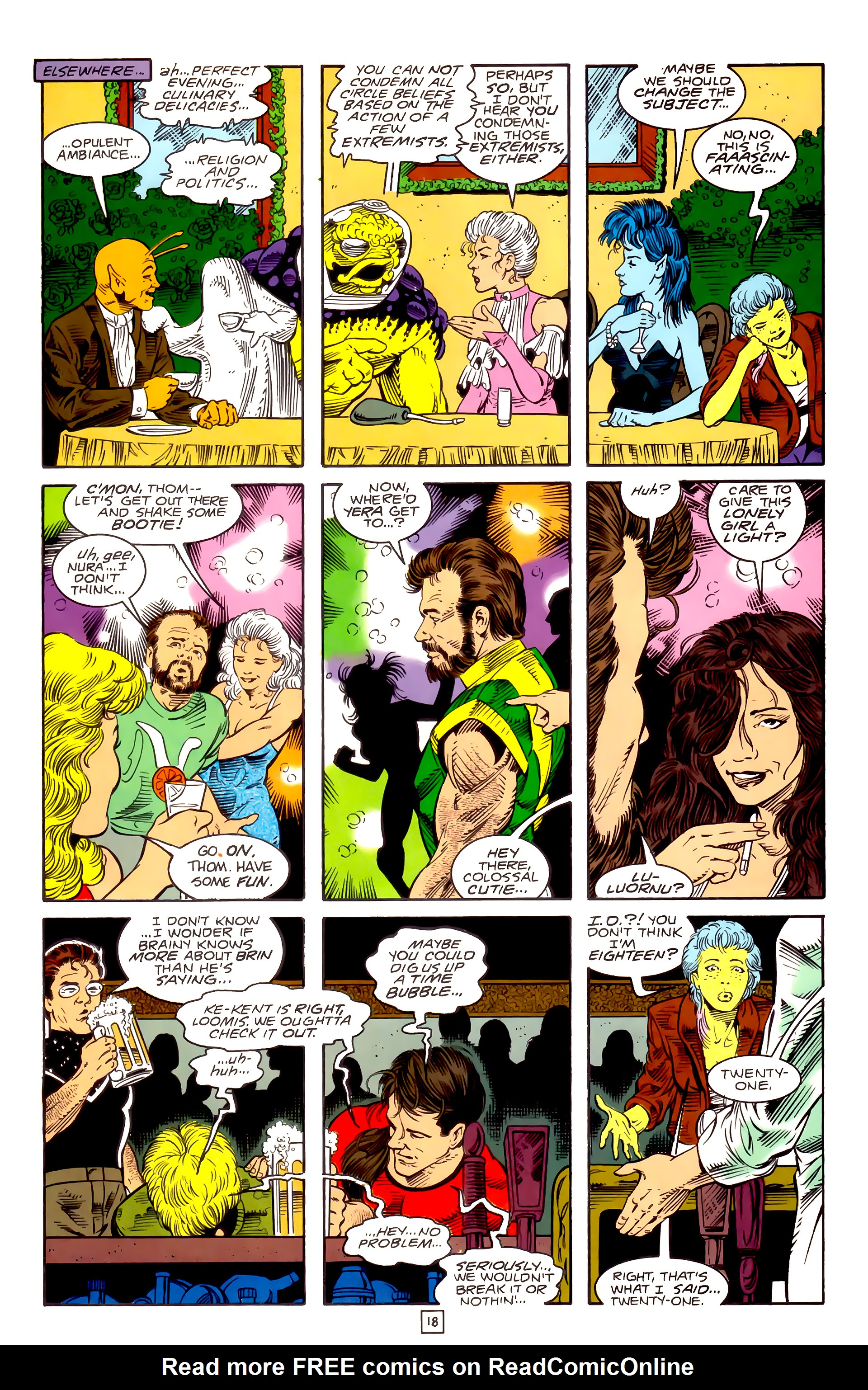 Legion of Super-Heroes (1989) _Annual_3 Page 45