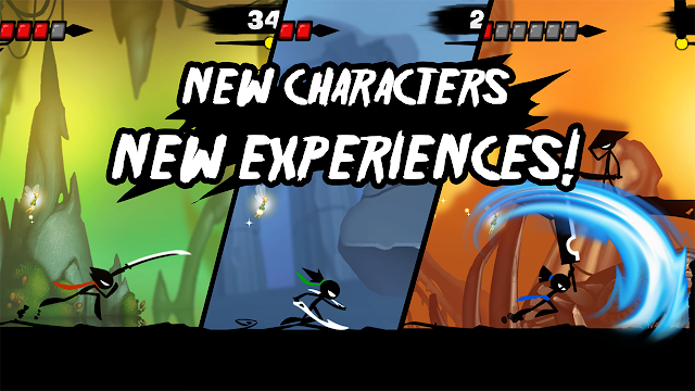 Download Stickman Revenge 3 Ninja Warrior MOD APK Terbaru