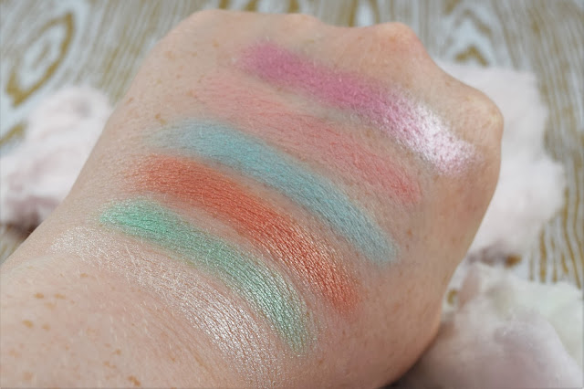 Sleek MakeUP I-Divine All The Fun Of The Fair Eyeshadow Palette Swatches