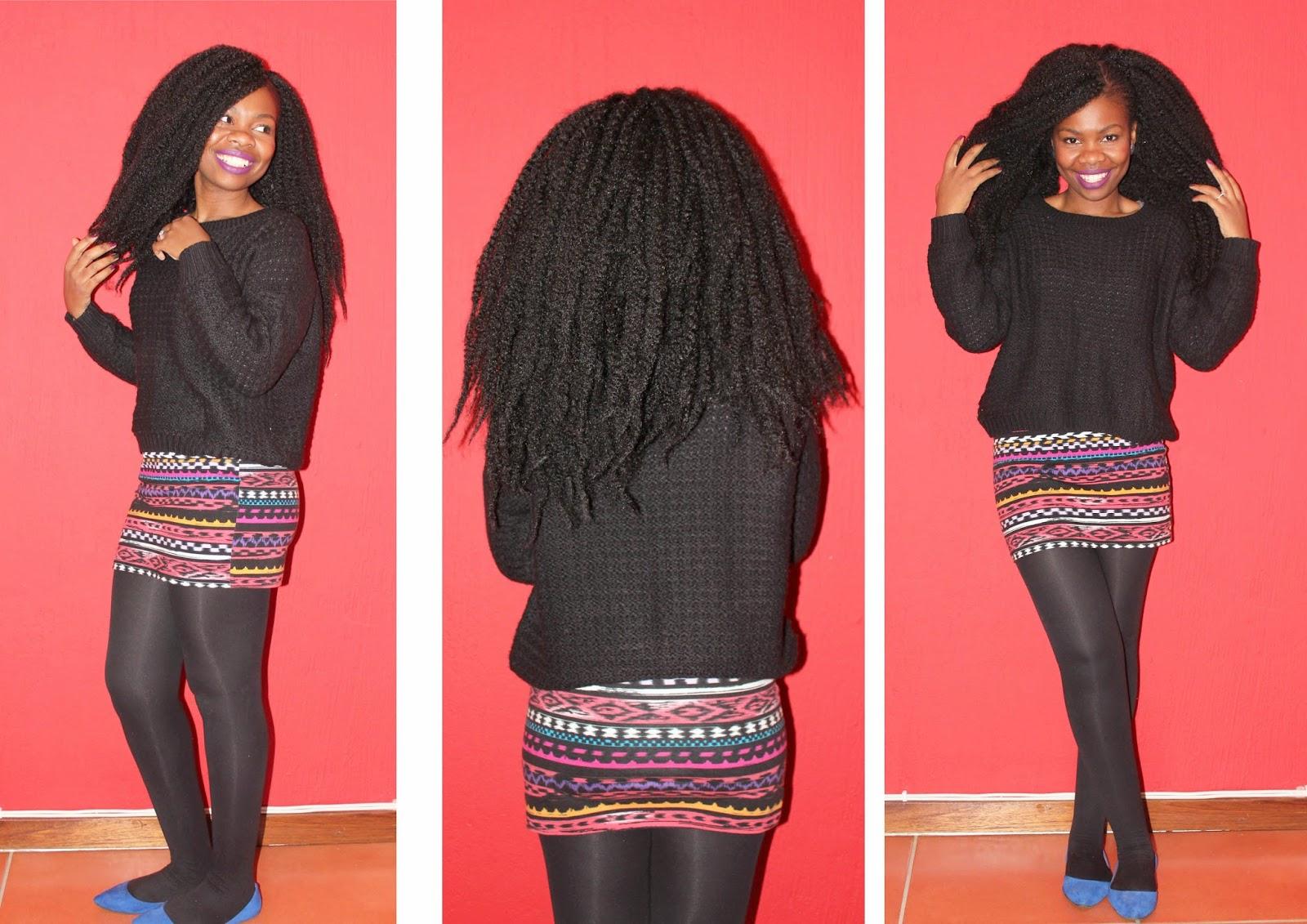 2014 Protective Style 3 Afro Marley Weave Aisha Life