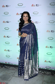 Dia Mirza in Sizzling Designer Saree at THE OLIVE CROWN AWARDS 2017 10.jpg