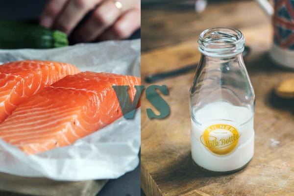 Kandungan Gizi Susu dan Ikan Mana yang Lebih Baik