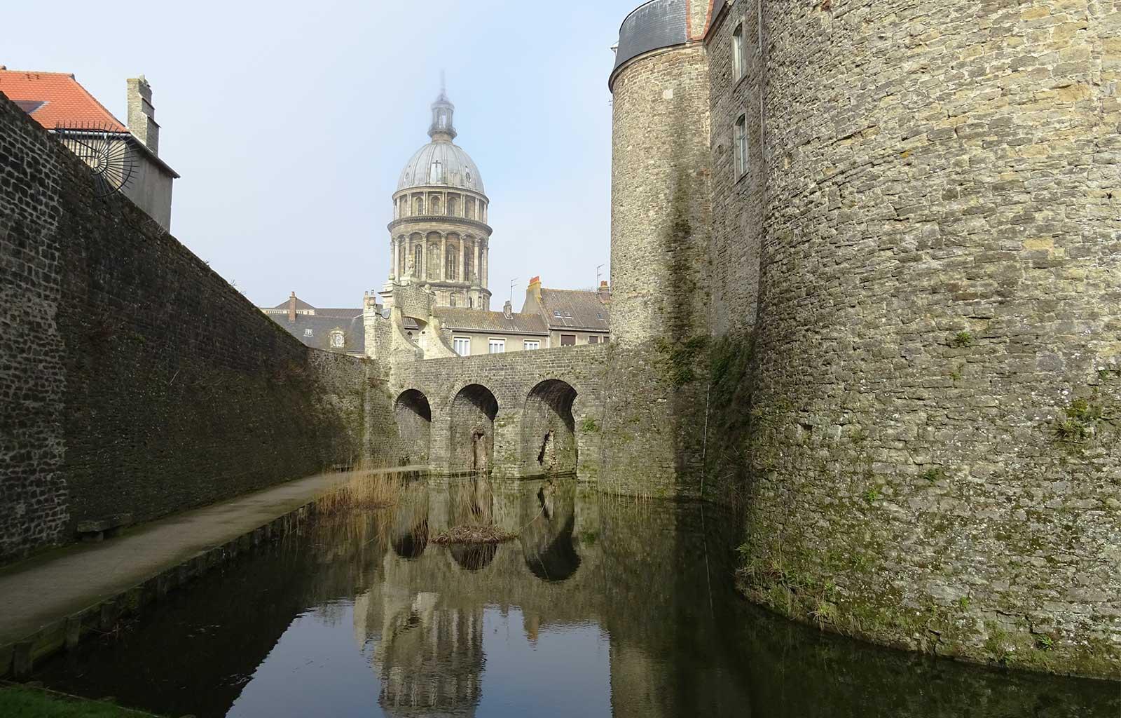 Journée Boulogne-sur-mer château musée douves