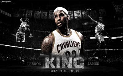 Lebron James The King Cavaliers - Fond d'écran en Full HD 1080p
