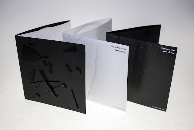 Solopieces For Saxophone Packaging Designed By Umer Ahmed & Jenny Nilsen