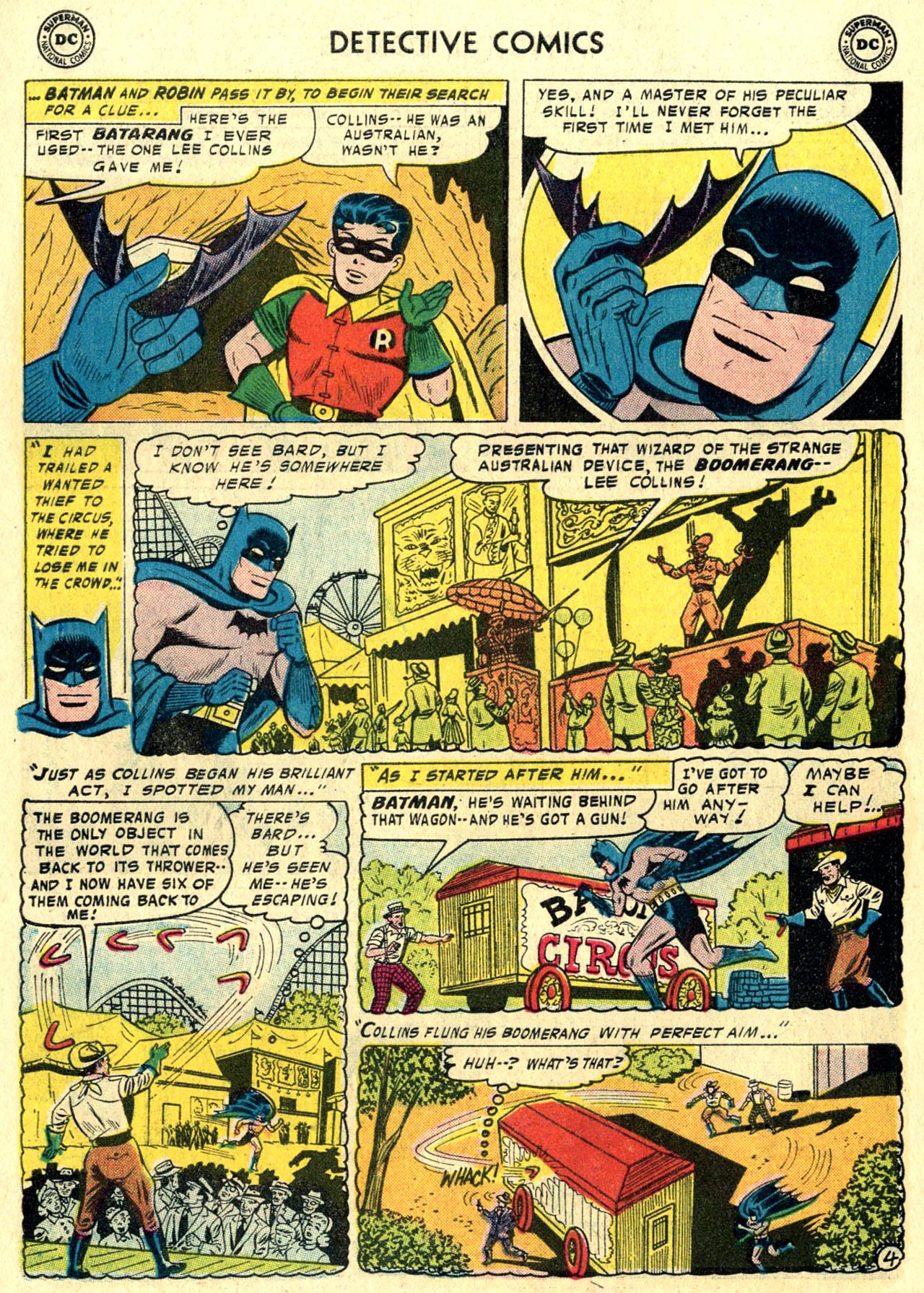 Read online Detective Comics (1937) comic -  Issue #244 - 6