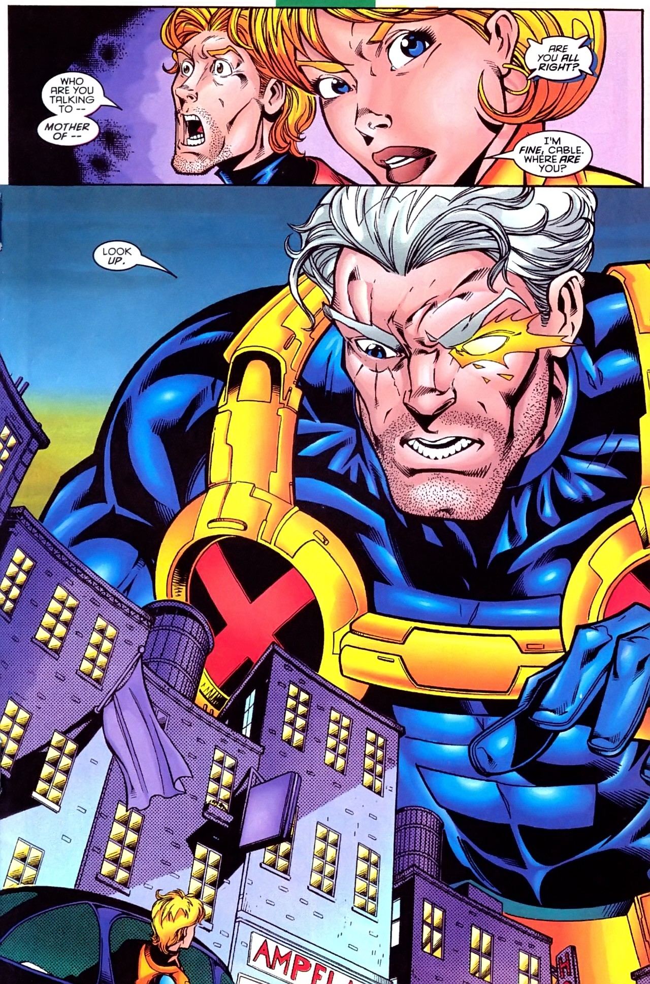Read online X-Force (1991) comic -  Issue #63 - 22