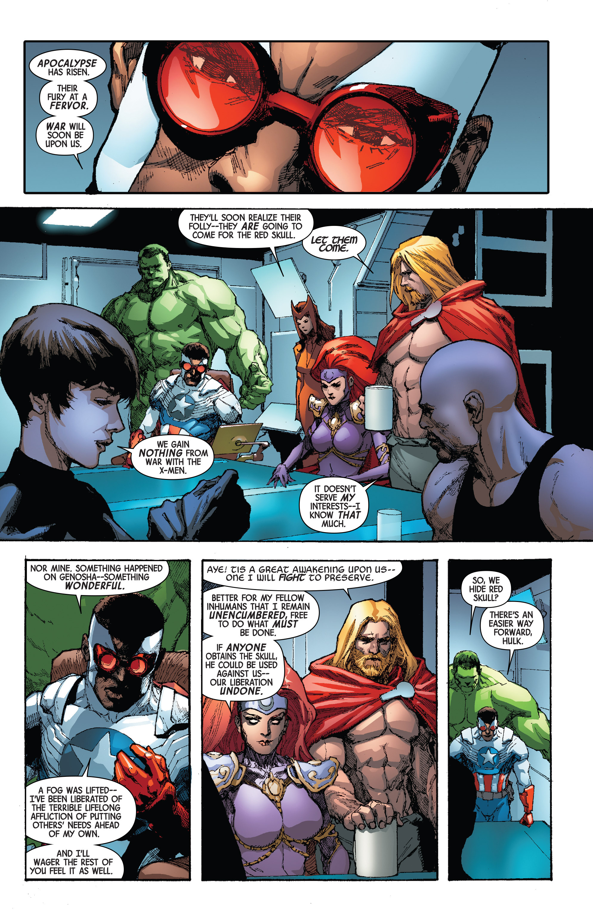 Read online Avengers & X-Men: AXIS comic -  Issue #4 - 19