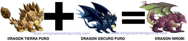como sacar el dragon nirobi en dragon city 3