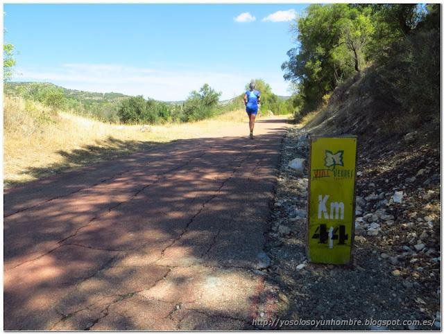 Vía Verde del Tajuña, tengo ganas de hacer la maratón un año de estos.
